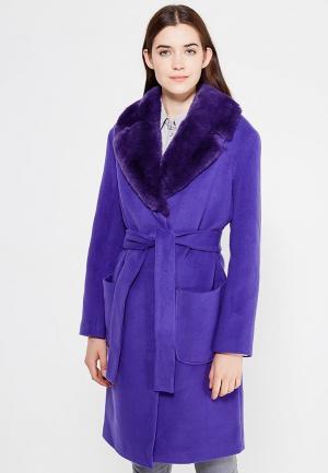 Пальто Grand Style. Цвет: фиолетовый