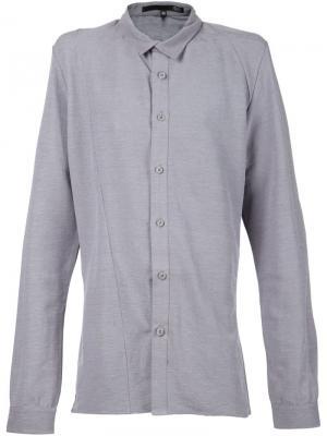 Классическая рубашка Ødd.. Цвет: серый