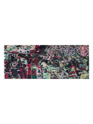 Палантин Labbra. Цвет: черный, зеленый, розовый