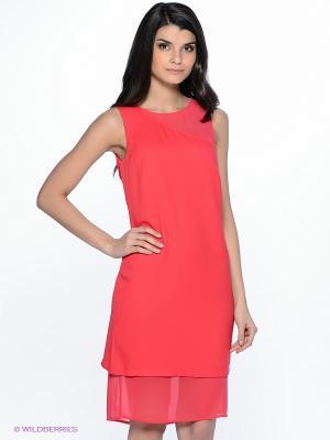 Платье INCITY. Цвет: фуксия