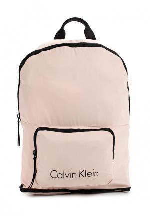 Рюкзак Calvin Klein Jeans. Цвет: розовый