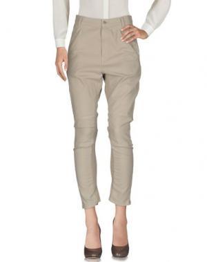 Повседневные брюки ZUCCA. Цвет: бежевый