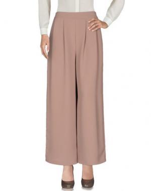 Повседневные брюки TOLÈRANCE. Цвет: верблюжий