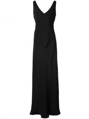 Платье-макси Peter Cohen. Цвет: чёрный