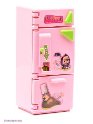 Игровой набор Холодильник Играем вместе. Цвет: розовый, зеленый