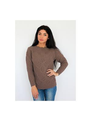Свитер Wooly's. Цвет: коричневый