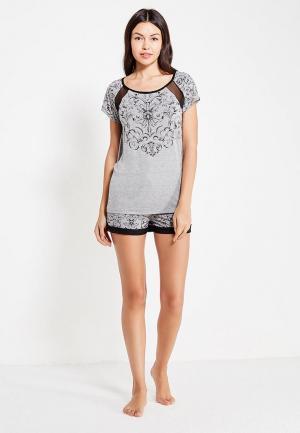 Пижама Deseo. Цвет: серый