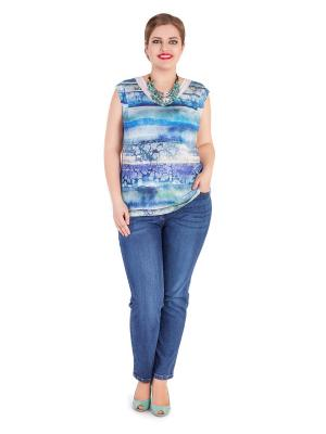 Топ Lady Sharm Classic. Цвет: голубой