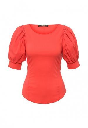 Блуза Piena. Цвет: красный