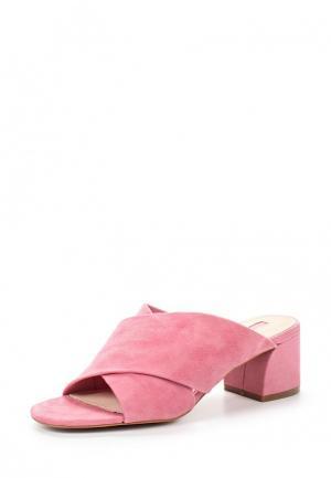 Сабо Topshop. Цвет: розовый