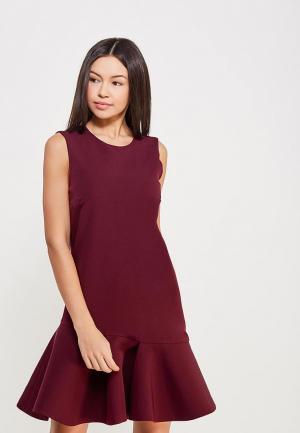 Платье Glam Goddess. Цвет: бордовый