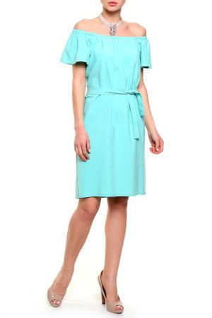 Платье PRIVATE SUN. Цвет: зеленый