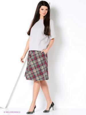 Блуза IMAGO. Цвет: серый