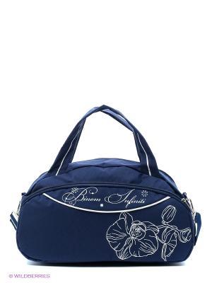 Спортивная сумка UNION. Цвет: синий