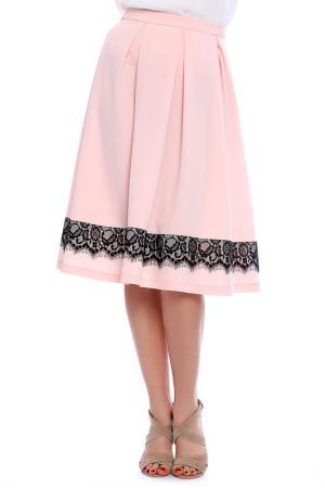 Юбка Emma Monti. Цвет: pink