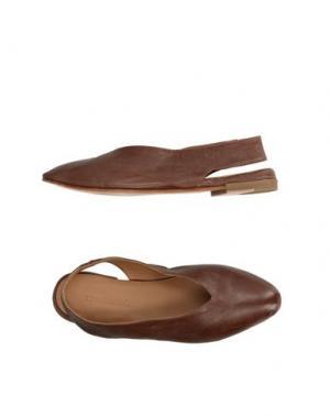 Балетки KUDETÀ. Цвет: коричневый