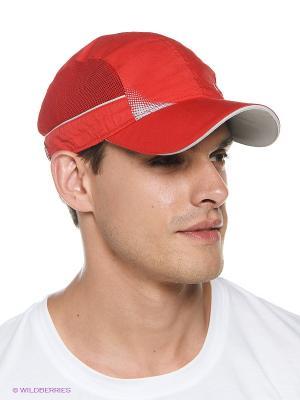Бейсболка Maxval. Цвет: красный