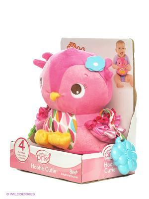 Развивающая игрушка Совушка BRIGHT STARTS. Цвет: розовый