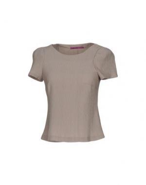 Блузка MILA SCHÖN CONCEPT. Цвет: серый