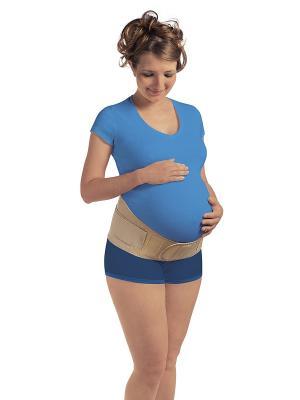 Бандаж для беременных ПОЛЬЗА. Цвет: бежевый