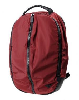 Рюкзаки и сумки на пояс EMPORIO ARMANI. Цвет: красный