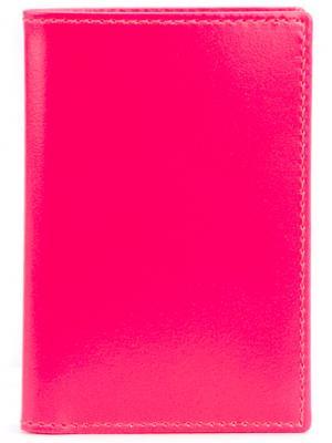Складной бумажник Comme Des Garçons Wallet. Цвет: розовый и фиолетовый