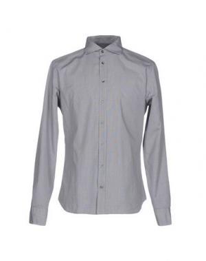 Pубашка EXIBIT. Цвет: серый