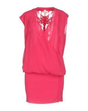 Короткое платье LUNATIC. Цвет: фуксия