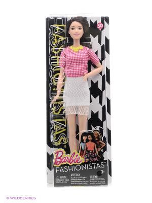 Кукла из серии Игра с модой Barbie. Цвет: бледно-розовый, белый