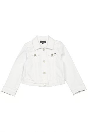 Джинсовая куртка Tommy Hilfiger. Цвет: белый