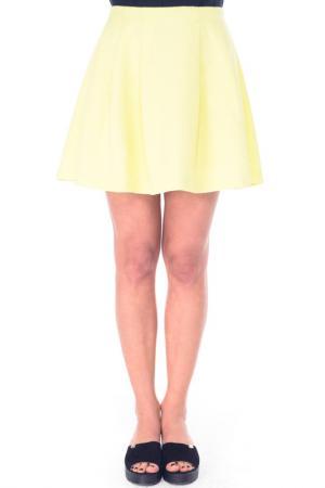 Юбка Arefeva. Цвет: желтый