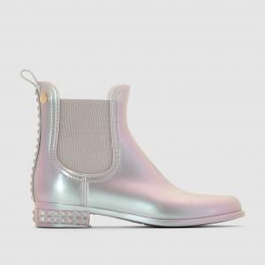 Ботинки челси PENELOPE - LEMON JELLY. Цвет: серый с блеском