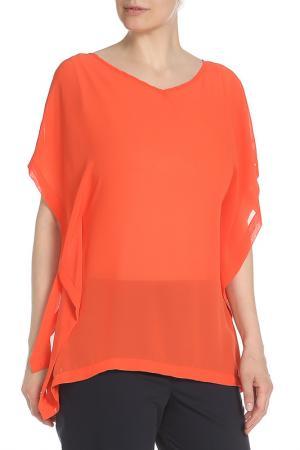 Блузка Glamorous. Цвет: neon coral