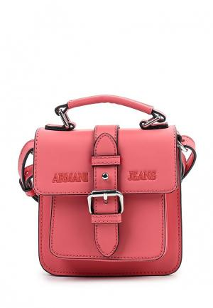Сумка Armani Jeans. Цвет: розовый