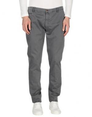 Повседневные брюки BARBATI. Цвет: серый