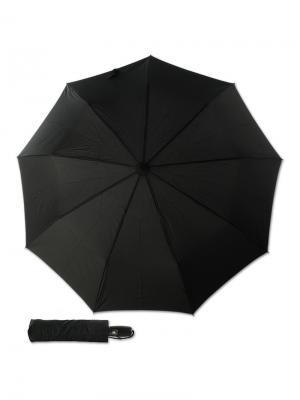 Зонт складной M&P C2717-OC Pelle Black. Цвет: черный