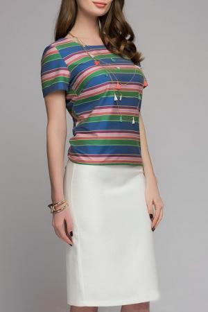 Рубашка 1001dress. Цвет: синий