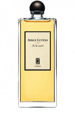 Парфюмерная вода A la Nuit Serge Lutens. Цвет: бесцветный