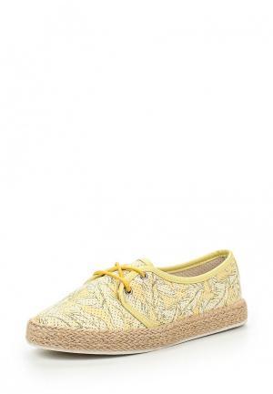 Ботинки Shi Tino. Цвет: желтый