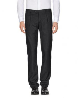 Повседневные брюки J.W. BRINE. Цвет: стальной серый