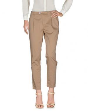 Повседневные брюки OAKS. Цвет: хаки