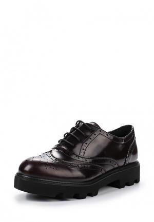 Ботинки Obsel. Цвет: бордовый