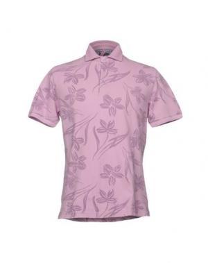 Поло ORIAN. Цвет: розовый