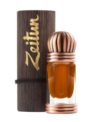 Концентрированные масляные духи Уд Зейтун. Цвет: светло-коричневый