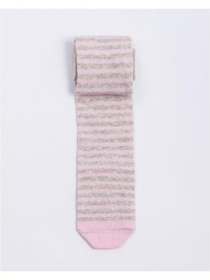 Колготки Mark Formelle. Цвет: серый меланж, бледно-розовый
