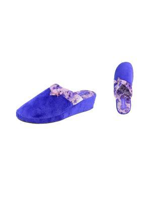 Тапочки De Fonseca. Цвет: темно-фиолетовый, фиолетовый