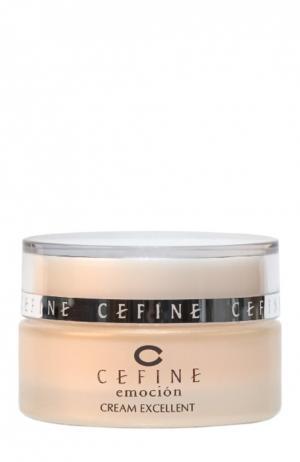 Крем ревитализирующий питательный Emocion Cream Excellent Cefine. Цвет: бесцветный