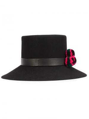 Шляпа Inga Yosuzi. Цвет: чёрный