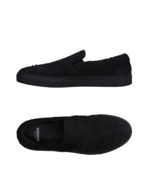 Низкие кеды и кроссовки DIEMME. Цвет: черный