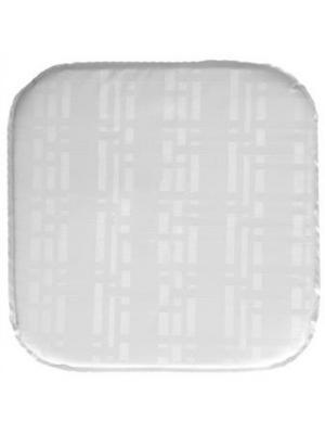 Подушка на табурет Silk, 34х34х2 см DEKORTEX. Цвет: белый